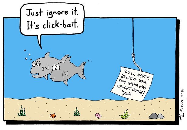 click bait fishing