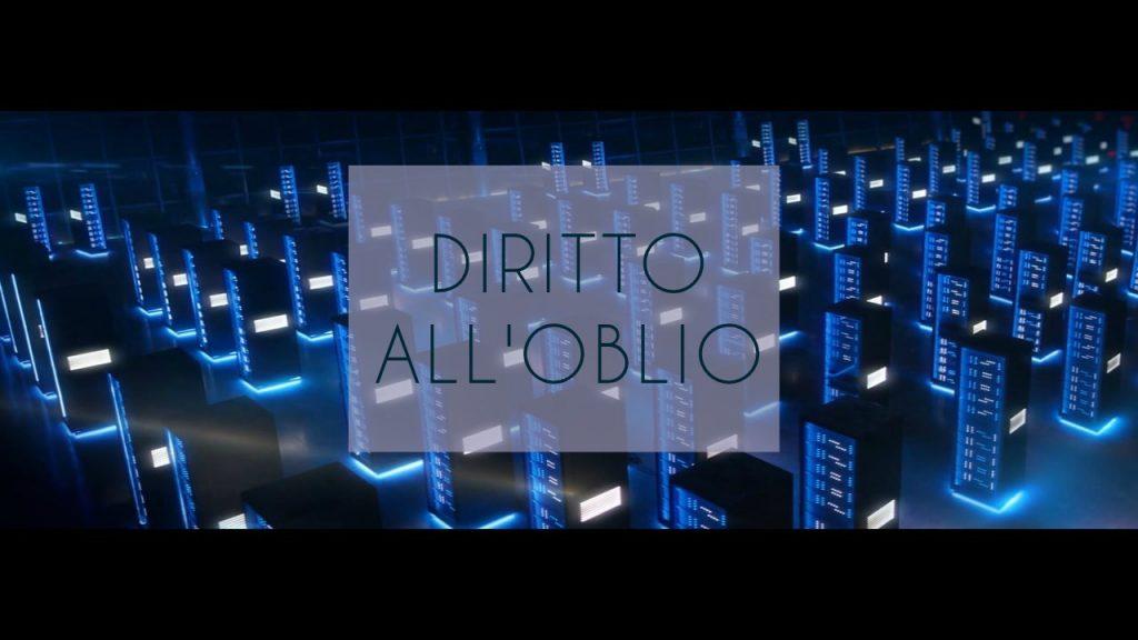 Diritto all'oblio-daniele signoriello-copywriter