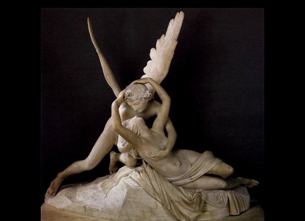Amore e Psiche - Antonio Canova - Museo del Louvre